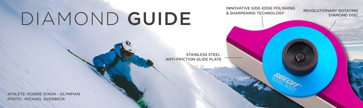 Sidecut Ski Tuning Diamond Guides